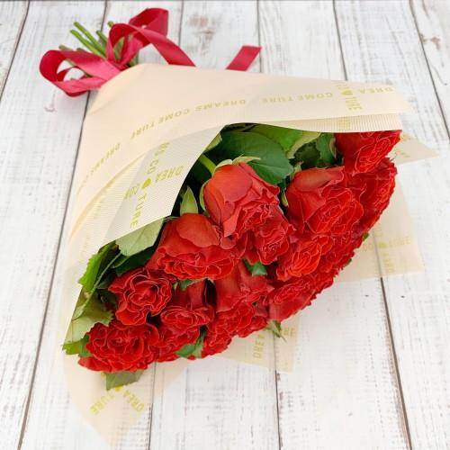 Букет из 31 красной розы Эльторо