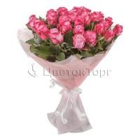 Букет из 39 Розы Дип Вотер