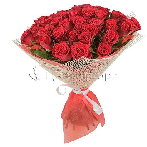 Букет из 51 Розы Борнео